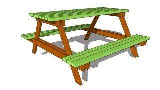 Picnic Table Plans Free
