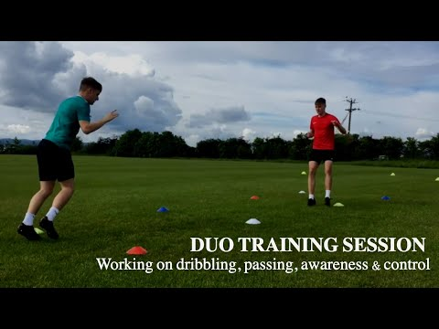 Duo Football/Soccer Training Session With Reserve Team Players |TOFA #17