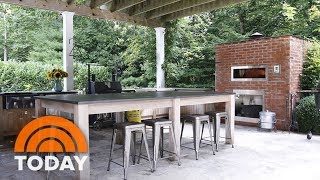 Bobby Flay Reveals His Favorite Room: His Outdoor Kitchen | TODAY