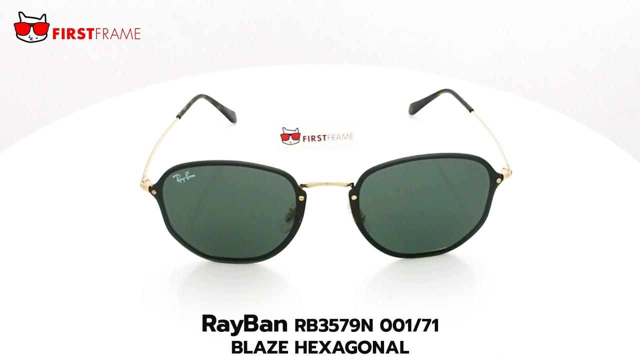 8c8ae9355a RayBan RB3579N 001 71 BLAZE HEXAGONAL - YouTube
