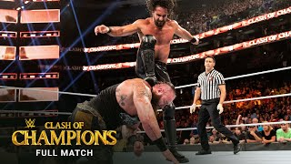 FULL MATCH - Seth Rollins vs. Braun Strowman – Universal Title Match: WWE Clash of Champions 2019