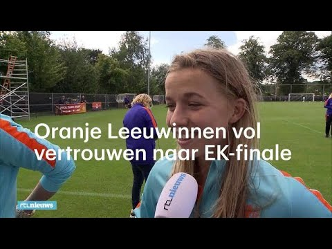 Oranje Leeuwinnen vol vertrouwen naar EK-finale - RTL NIEUWS