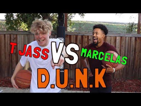 Mini Hoop D.U.N.K vs MarcelasHoward!