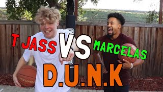 Mini Hoop D.U.N.K vs MarcelasHoward!