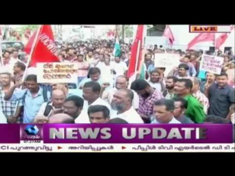 Cochin Shipyard Privatization: Trade Unions Conduct March