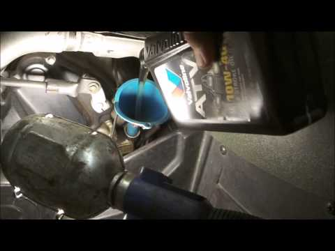 How Change Differential Oil Trv  Arctic Cat
