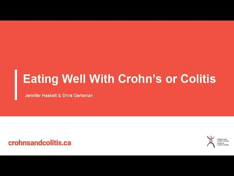 Eating Well With Crohn's or Colitis