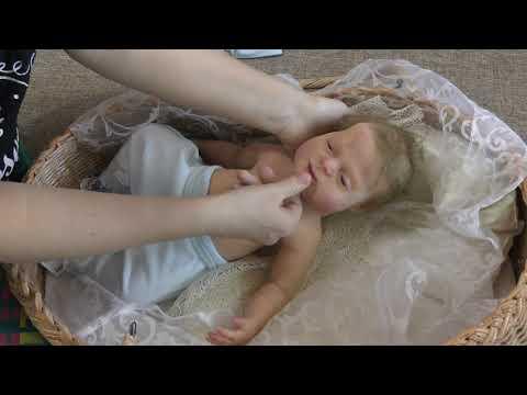 Кукла реборн, полностью силиконовая