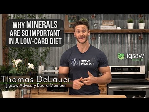 Why Minerals Are So Important In A Low Carb Diet #ScienceSaturday