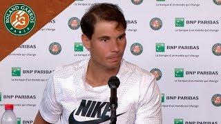 Rafael Nadal - Press Conference after Round 4 I Roland-Garros 2018