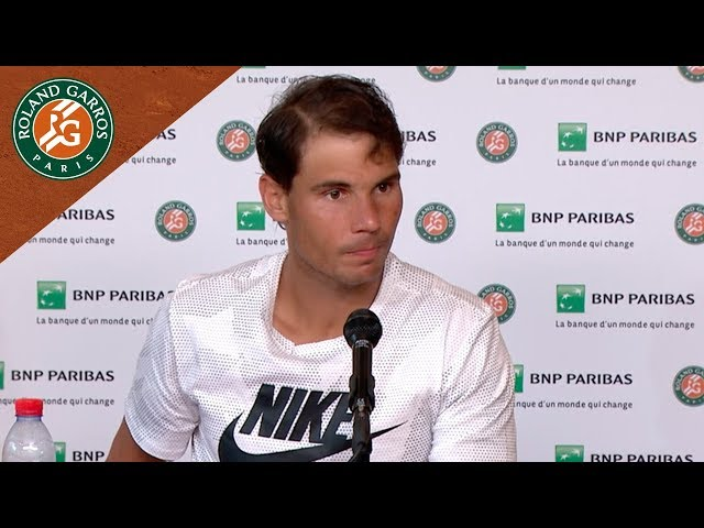 Rafael Nadal - Press Conference after Round 4 I Roland-Garros 2018