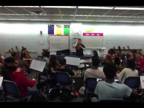 Gotha Middle School Orchestra Disney Application