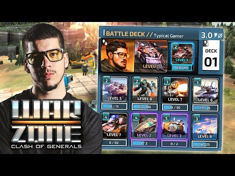 THIS DECK IS AWESOME!! (Warzone: Clash Of Generals)