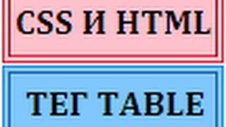 Как создать стильную таблицу на HTML и CSS