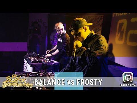 Balance Vs Frosty | Loopstation Semi Final | 2017 UK Beatbox Championships