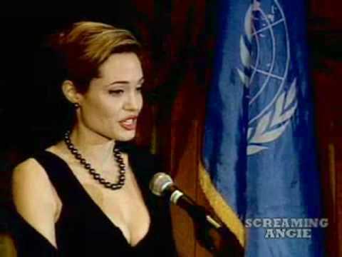 Angelina Jolie at UN Global Humanitarian Action Awards