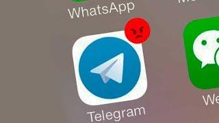 Сбой Telegram