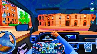 Taxi Sim 2020   Driving Mercedes Benz wagon in City drive🚖💥Car Games Android iOS and mobile Gameplay screenshot 2