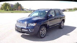 2015 Blue Jeep Compass Limited Newmarket Ontario | MacIver Dodge Jeep