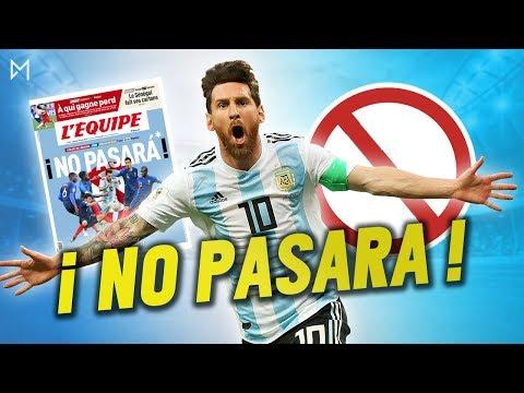 FRANCE VS ARGENTINE : MESSI NE PASSERA PAS ? | Daily Morning 29/06