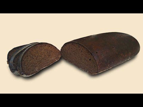 Borodinsky bread, according to recipe from 1940