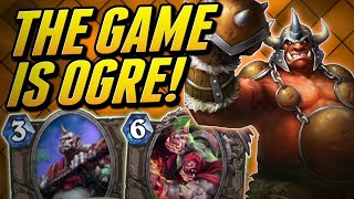 But Its all Ogre Now | Ogre Rogue | Wild Hearthstone Saviors of Uldum