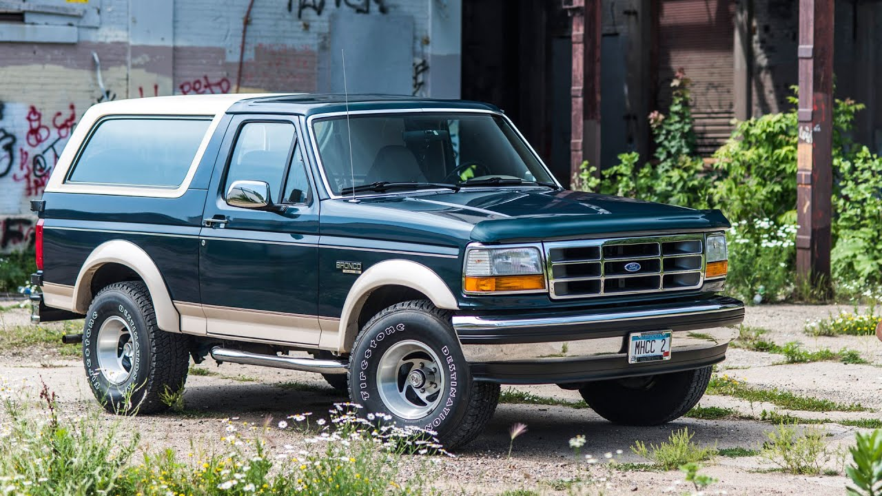 1993 ford bronco eddie bauer edition morrie s heritage connection youtube