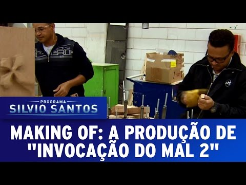 """Making Of: Veja detalhes da produção da Pegadinha """"Invocação do Mal 2"""""""