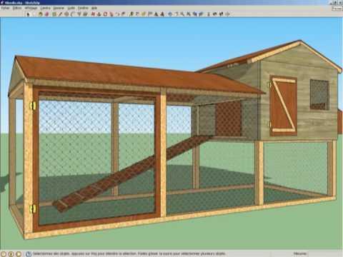 Ockycreekscottieadventures Blogspot Com Plan Construction Poulailler En Palettes