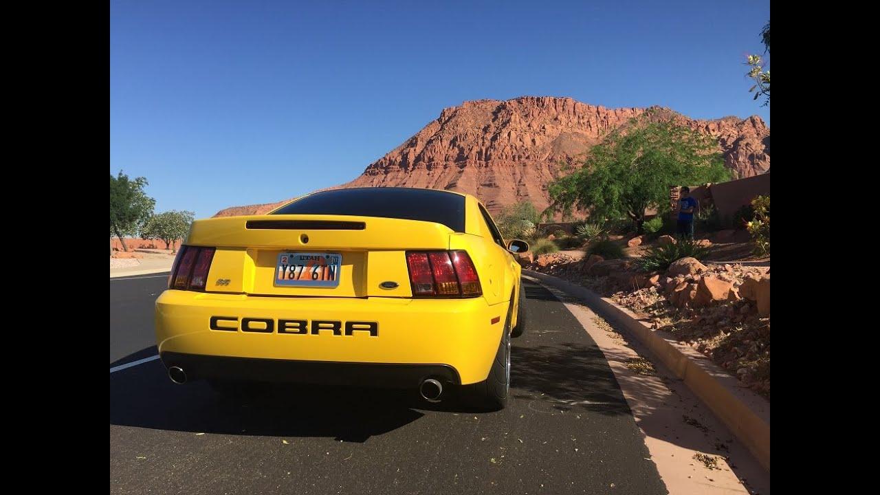2004 Ford Mustang SVT Cobra Terminator exhaust clips: Mac cat back