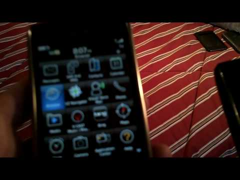 The LG Ally compared to the BlackBerry Storm