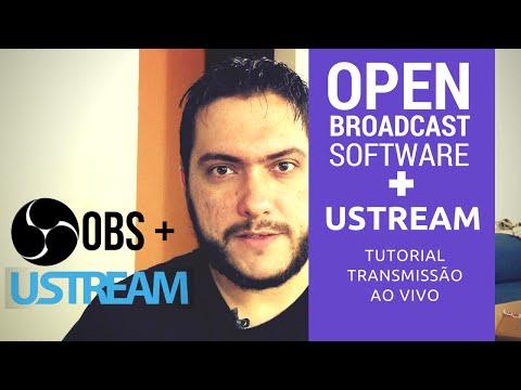 Tutoriais - OBS + Ustream   Transmissão ao Vivo