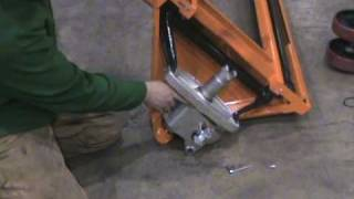 Changing the pump on Mighty Lift Pallet Jack ML55.MPG