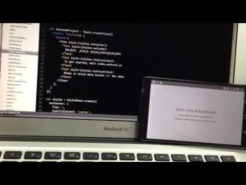 React native android live reload