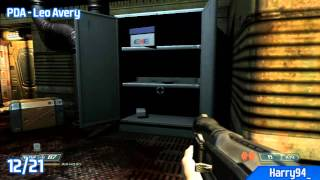 DOOM 3 BFG Edition - All PDA Locations - Resurrection of Evil (Evil Collector Trophy / Achievement)