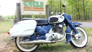 1966 Honda 250 CA72 Dream Touring by Randy Cycle Service & Restoration @ rcycle.com