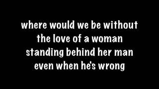 Travis Tritt - Love Of A Woman Lyrics