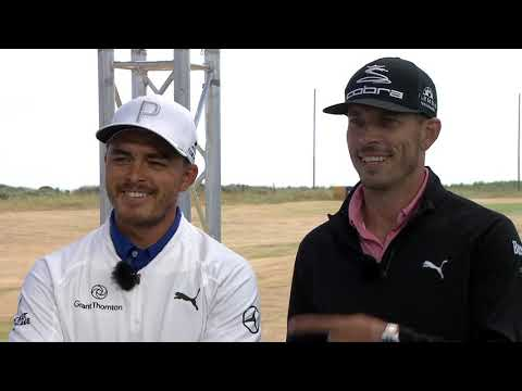 Rickie & Joe - Course Management & The Open