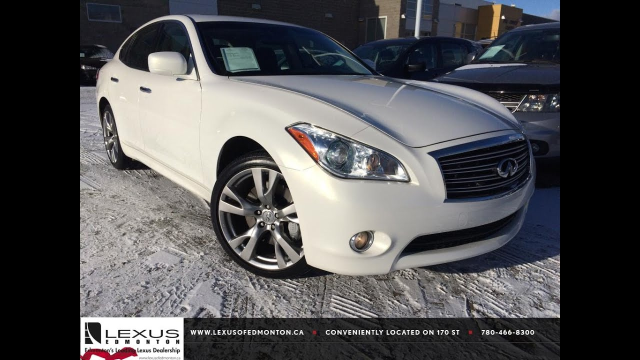 Used white 2013 infiniti m37 awd sport review sherwood park used white 2013 infiniti m37 awd sport review sherwood park alberta youtube vanachro Image collections