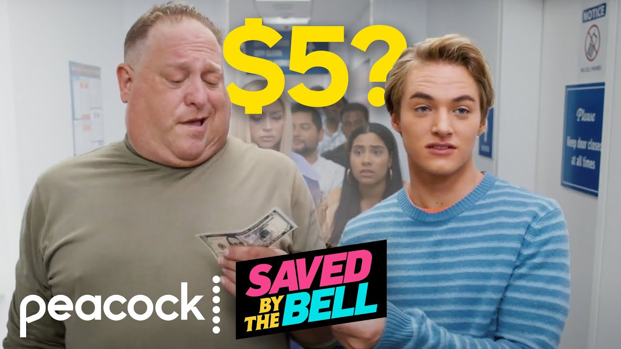 Download How Baysiders Cut in Line | Saved by the Bell