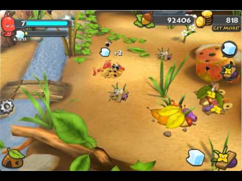 Bug Village Android Game Trailer -Glu
