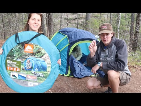 Ozark Trail 2 Person Pop Up Tent REVIEW