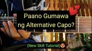 Paano Gumawa ng Alternative Capo? (Tutorial)😍