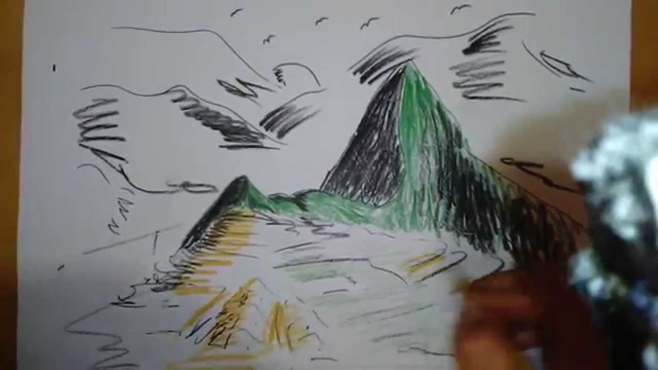 Dibujo Rapido 2 Machu Picchu Lp Johan Youtube