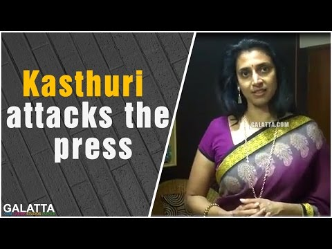 Kasthuri Attacks The Press For MisPublishing Her Interview On TOI