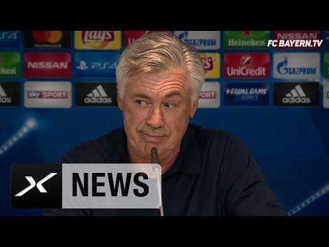 Carlo Ancelotti über Lewandowski, Ribery und China-Gerüchte | FC Bayern München - RSC Anderlecht