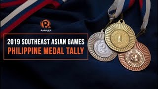 2019 Sea Games Medal Tally Update - As Of December 2, 2019 @ 10:0opm