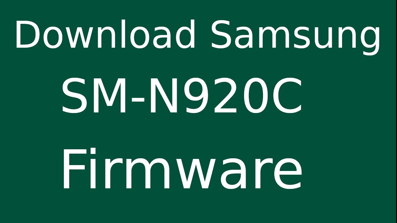 How To Download Samsung Galaxy NOTE-5 SM-N920C Stock