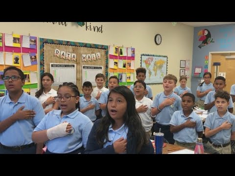 Hillsborough Academy of Math and Science Pledge of Allegiance