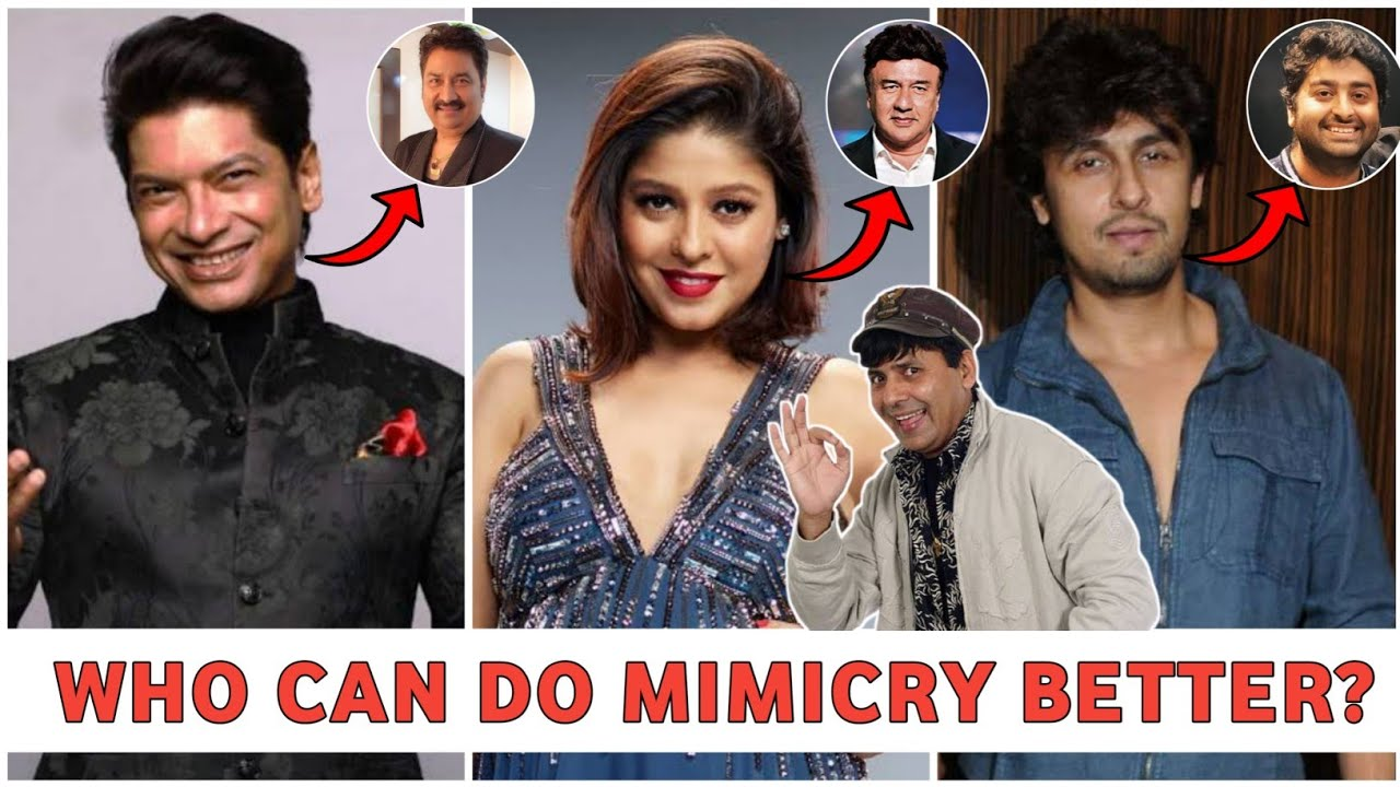 Singers Doing Mimicry Of Actors And Singers 🤣   Who Can Do Mimicry Better   Gareeb Singer🌟